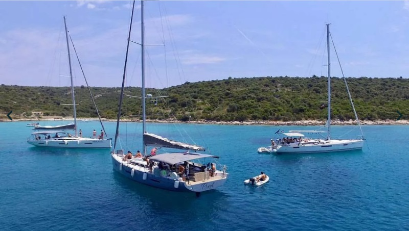 Segla i Kroatien med eller utan besättning